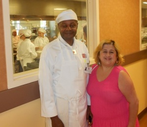 Chef Paul Curtis and his wife Jennifer Garcia