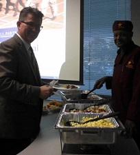 photo of JP's Catering caters at Society of Human Resource Management Meeting